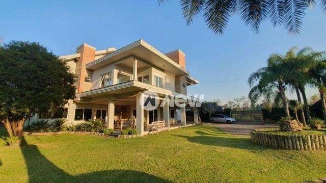 Casa com 4 dormitórios à venda, 506 m² por r$ 2.300.000,00 - lomba grande - novo hamburgo/ - Foto 2