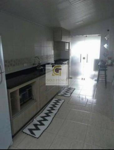 G. Casa com 2 dormitórios à venda, Residencial Santa Paula Jacareí/SP