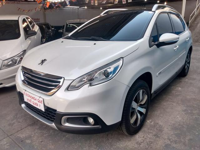 Peugeot 2008 ano 2017 1.6 completo com gnv injetado - Foto 3