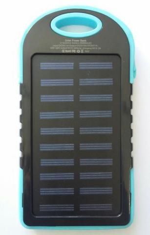 Carregador portátil para celular - Com bateria solar - Foto 5