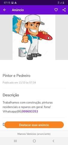 Pintor e Pedreiro - Foto 2
