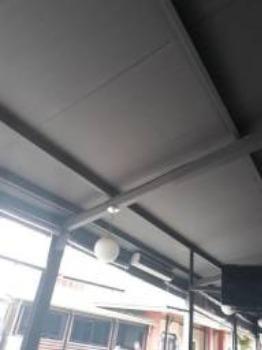 Estrutura Metalica com telhas termicas 145 metros quadrados - Foto 5