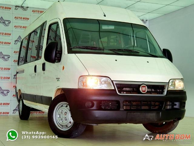 Fiat Ducato Minibus MultiJet Teto Alto 15 Lugares! Impecável! Completa! 2.3 16V 127CV