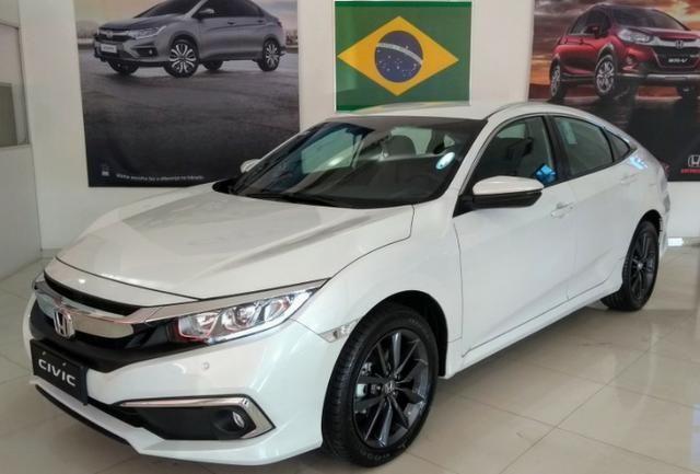 Honda Civic EXL 2.0 CVT - Zero KM - Mod 2020 - Foto 4