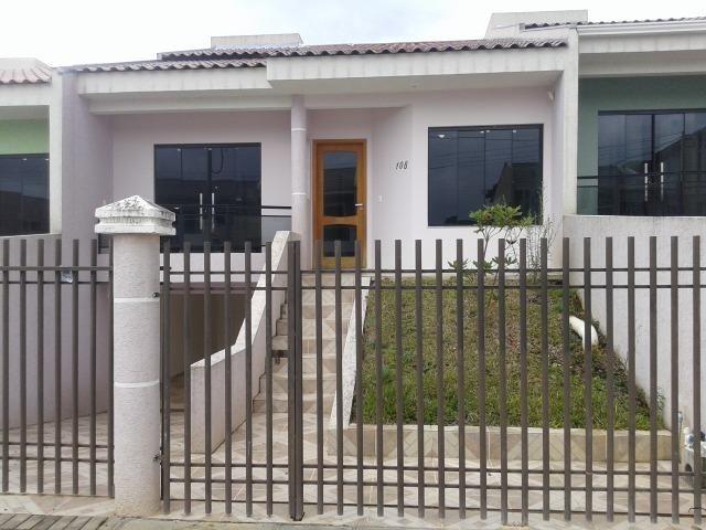 Casa nova com 120 m² de área construída - Bairro Botiatuva (antiga Lorenzetti) Campo Largo - Foto 2