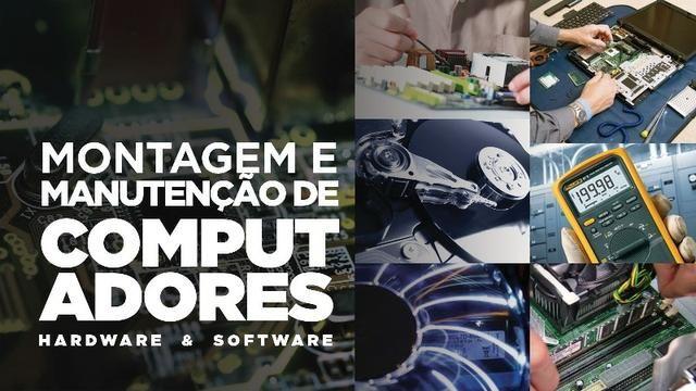 Curso e Treinamento Técnico Montagem e Manutenção de Computadores