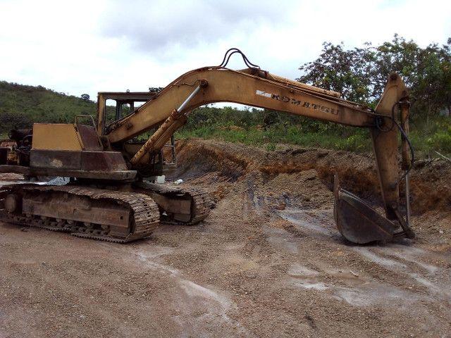 Escavadeira hidraulica pc 150 - Foto 2
