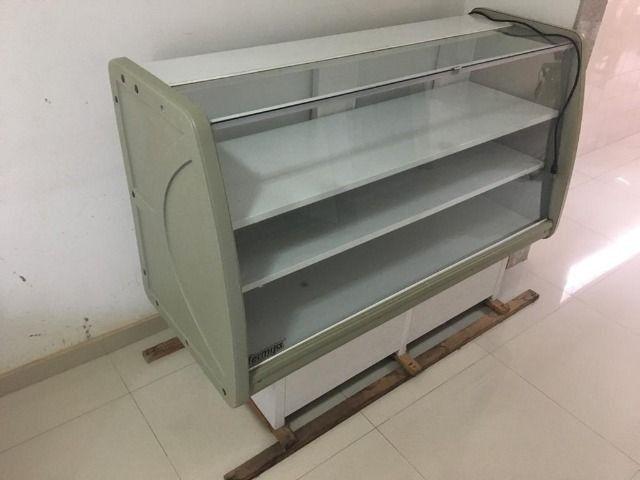 Balcão refrigerado seminovo, freezer,geladeira