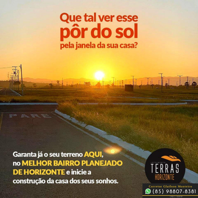 Loteamento Terras Horizonte no Ceará (Marque uma visita) !)