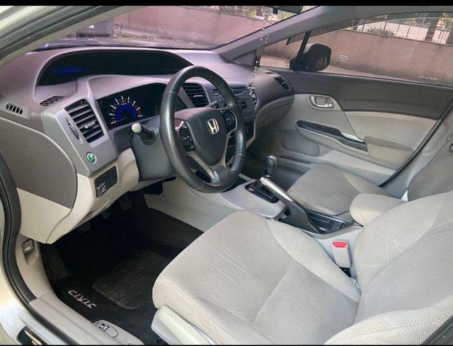 Vendo Honda Civic 2012/2013 LXS manual (Não aceito troca) - Foto 3