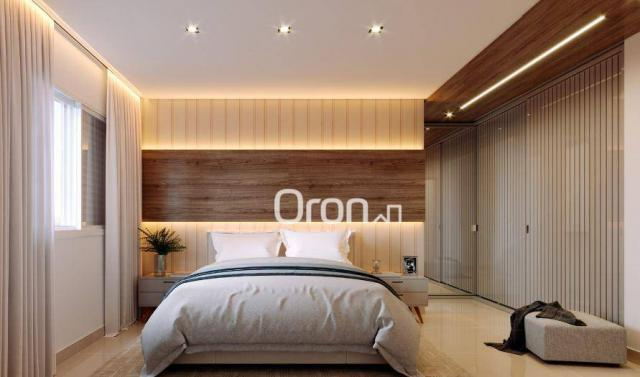Apartamento com 3 dormitórios à venda, 87 m² por R$ 405.000,00 - Setor Pedro Ludovico - Go - Foto 2