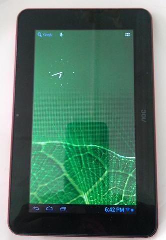 Tablet Aoc 7 Mw0712 Vermelho