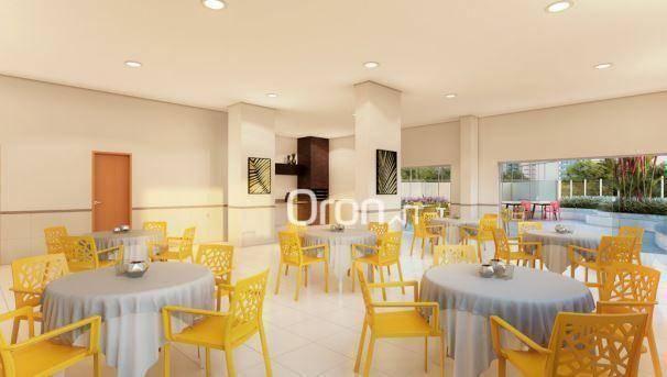 Apartamento com 3 dormitórios à venda, 87 m² por R$ 405.000,00 - Setor Pedro Ludovico - Go - Foto 14