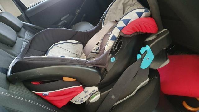Carrinho e bebê conforto chicco - Foto 3