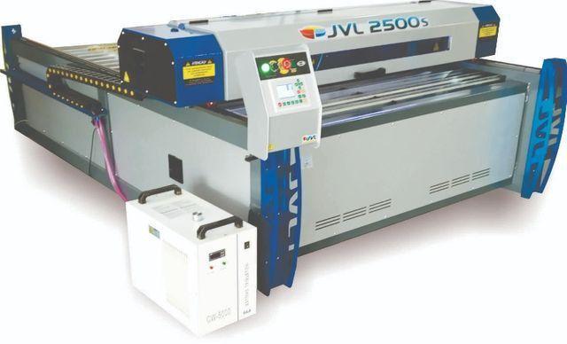 Máquina Corte e Gravação Laser JVL 2500s 1,50x2,50 corte Aceitamos cartão Bndes