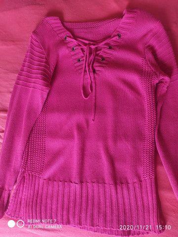 Vendo lindas, blusas de linho... Tamanho M. - Foto 2