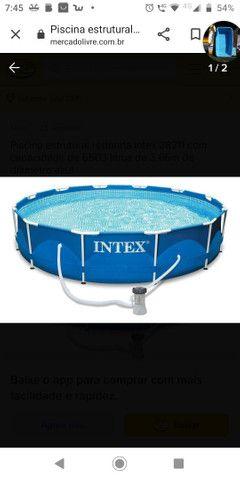 Vendo piscina 16.000 litros semi nova