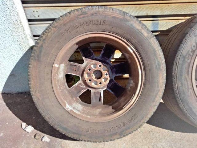 Jogo Roda Pneu Aro 17 Honda Crv 2011 - Foto 19