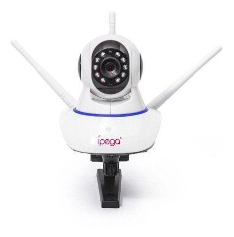 Câmera IP Wifi 3 Antenas UltraHD 1080p - Filma e grava no escuro total - Foto 2
