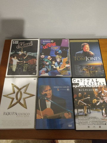 Dvd's de filme e música
