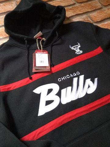 Moletom Chicago Bulls mitchell e ness - Foto 2