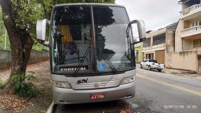 Ônibus Executivo Buscar Rodoviária MB 0500 - Foto 5