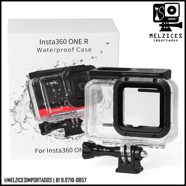 Caixa Estanque Para Insta360one R - Versão 4k - Foto 5