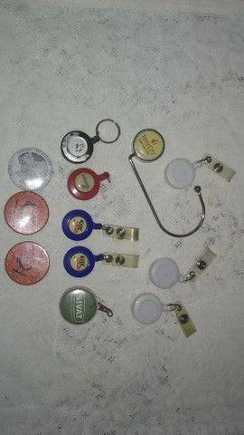 Chaveiros botons porta crachás - Foto 6