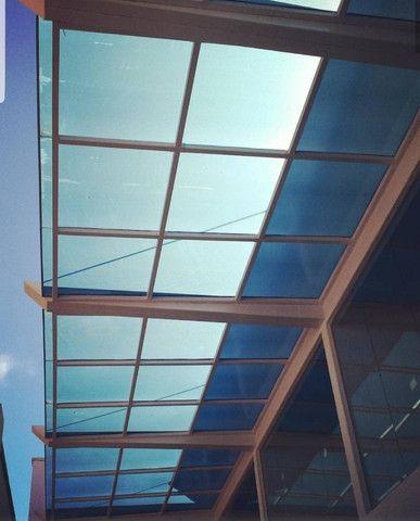 Cobertura metalica acabamento em policarbonato é telhas - Foto 2