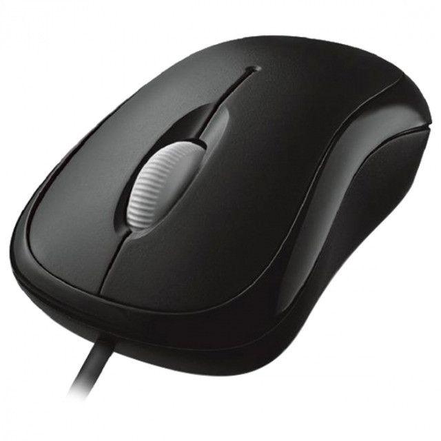 Mouse optico com fio basic usb preto p5800061