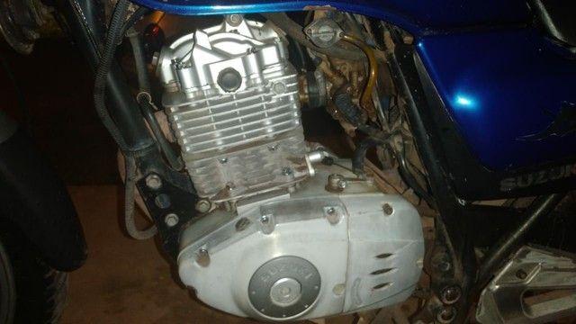 Vendo uma moto Suzuki para interior  - Foto 5