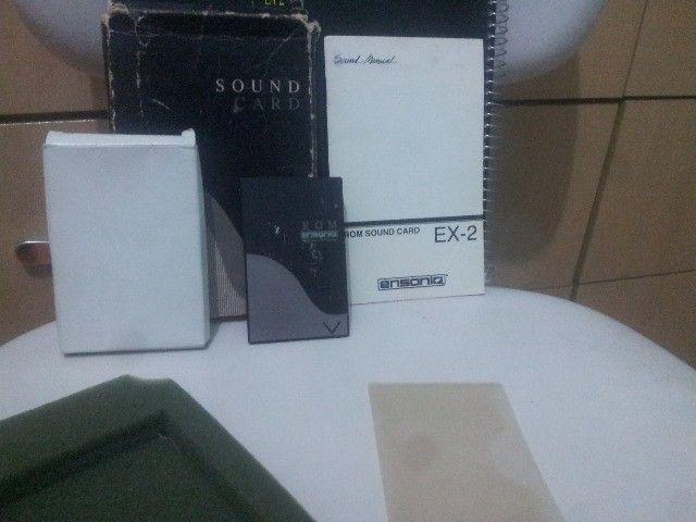 Cartão rom Ensoniq Sound Card Ex-2 para KS-32 Series e SQ1-2 plus series e outros Ensoniqs - Foto 3