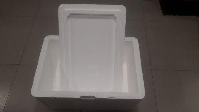 Caixa de Isopor 110 Litros - Foto 2
