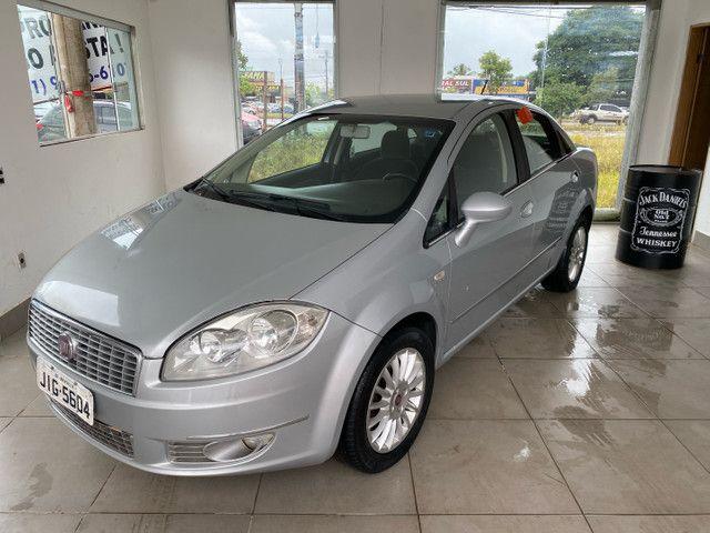 Fiat Linea HLX completo impecável! Ipva 2021 pago! - Foto 8