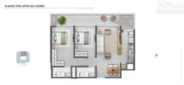 Apartamento 2 dormitórios c/ suíte - Foto 13