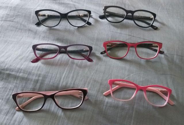 Vendo armação de óculos em excelente estado de conservação!!! - Foto 2