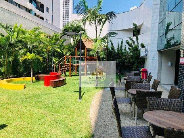 Apartamento com 3 dormitórios para alugar, 81 m² por R$ 3.500/mês - Boa Viagem - Recife/PE - Foto 2