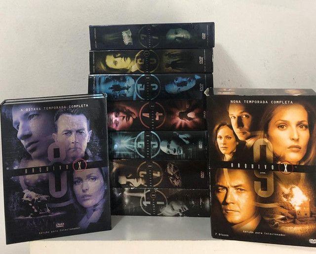 DVD Box Arquivo X - 1ª A 9ª Temporada- 3 Discos - Foto 2