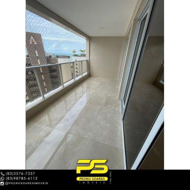Apartamento com 3 dormitórios para alugar, 190 m² por R$ 6.200/mês - Altiplano Cabo Branco