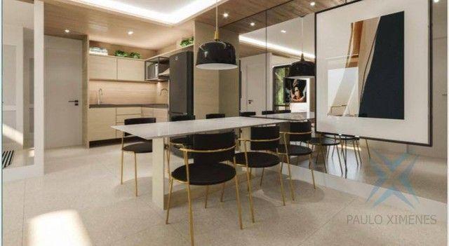 Apartamento compacto à venda, 37 m² por R$ 322.000 - Engenheiro Luciano Cavalcante - Forta - Foto 3