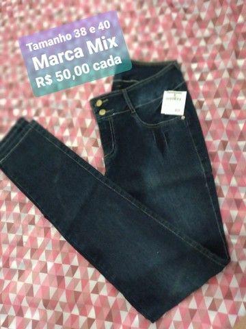 Calças jeans marca mix Promoção  - Foto 3