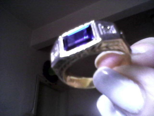Anéis ouro três 18K novos com total 15.1gr - Foto 4