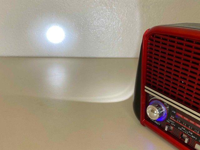 Rádio Retrô Portátil Ferrari Vintage C/ AM e <br>Fm - Foto 6
