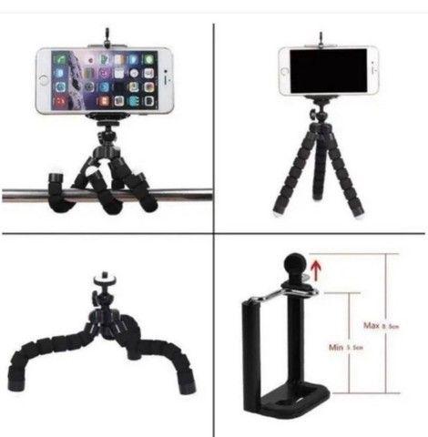 Mini Tripé universal para Celular e Camera