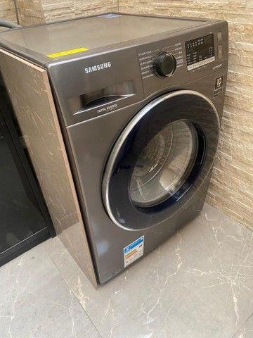 Vendo Urgente! Máquina Samsung lava e seca 11kg inox  - Foto 2