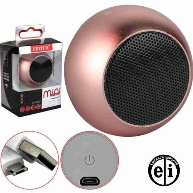 Caixa De Som Bluetooth Mini Speaker-Entrega Grátis