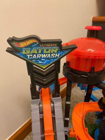 Ultimate Gator carwash hot wheels lava carro jacaré  - Foto 4