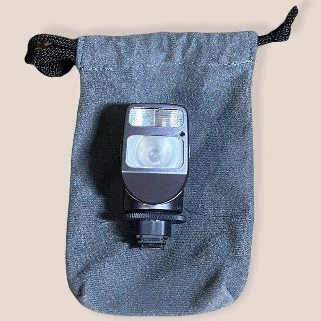 Iluminador Sony Hvl-hfl1 Com Luz E Flash Para Filmadoras  - Foto 4