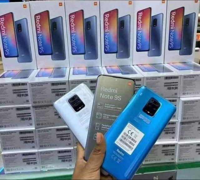 Note 9s, 64Gb, azul e preto. - Foto 5