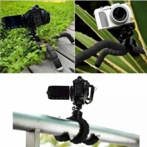 Mini Tripé universal para Celular e Camera - Foto 2